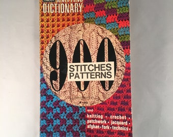 Mon tricot stitch dictionary 1300 pattern stitches knitting mon tricot knitting dictionary900 stitches and patternsknitting crochet patchwork fandeluxe Image collections
