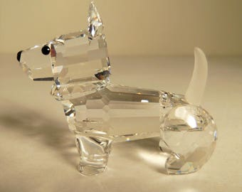 Crystal Scottish Terrier from Swarovski