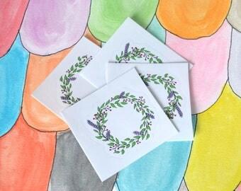 Clear Wreath Sticker