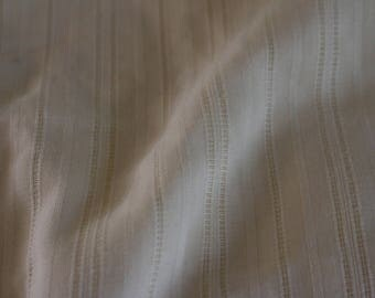 27  Ivory with an open stripe. LOVELY