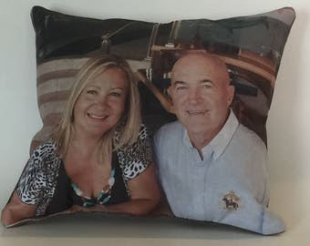 "Cute Full Photo Pillow 9"".5 by 8"""