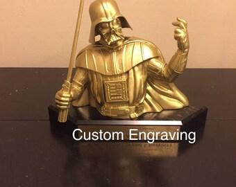 Custom Darth Vader Bust Trophy
