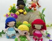 Tinkerbell Amigurumi Pattern / Fairy Amigurumi Pattern / Tinkerbell Crochet Pattern / Fairy Crochet Pattern / Crochet Doll Pattern