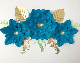 SVG Petal #6 Paper Flower Template DIGITAL Version - Cricut and Silhouette Ready - The Temple - Original Design by Annie Rose