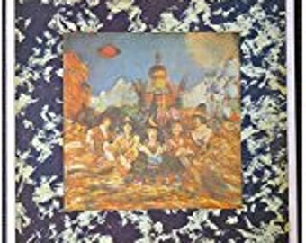 The Rolling Stones - Their Satanic Majesties Request - Vintage Album Cover Poster