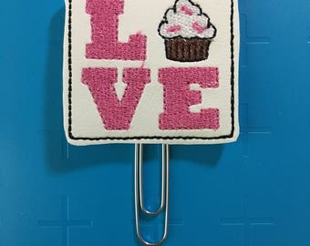 Love Cupcakes Planner Clip