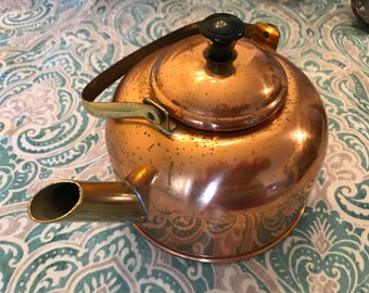 Small Copper Tea Kettle