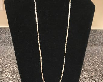 Sterling Silver Braided Chain