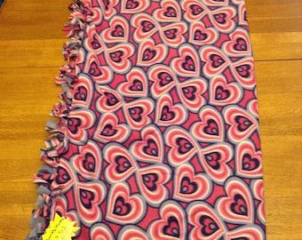 Purple Heart blanket