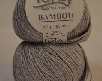"Bamboo Fonty ""Bamboo"" light grey"