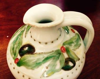 Olive oil or vinegar ewer/pitcher