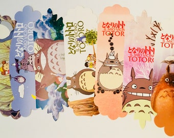 My Neighbor Totoro Bookmark Studio Ghibli Anime - Journal or Scrapbooking