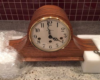 Henry Miller mantel clock with chime