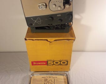 Kodak Brownie 500 8mm Movie Projector