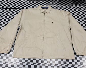 Rare vintage 90s Jacket polo ralph lauren - made in usa - size M oversize - 100cotton