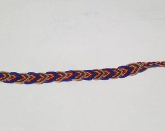 Layered Leaf Friendship Bracelet