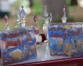 Handcrafted Artisan Soap All My Favorite Colors Swirl