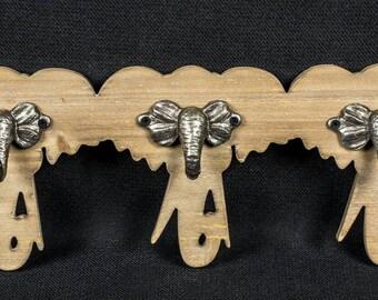 elephant wall hooks