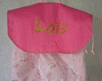"""Kindergarten bag rucksack backpack nursery school bag personalized """"My first bag trend"""""""