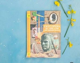 Volume illustrato enciclopedia per ragazzi anni 60 n. 13   Illustrated encyclopedia volume for boys 60s n. 13