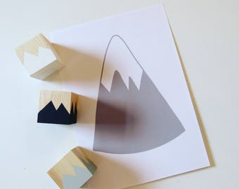 Grey Mountain A4 Print
