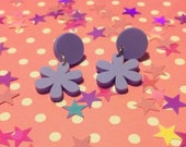 Pastel Daisy Earrings - lasercut acrylic