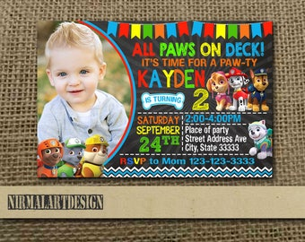 Paw Patrol Invitation,Paw Patrol Birthday,Paw Patrol Party,Paw Patrol Card,Paw Patrol Printable,Paw Patrol Birthday Party,Paw Patrol