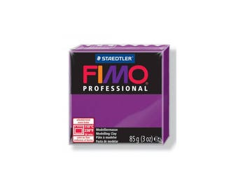 Polymer clay Fimo Pro 85 g - purple No. 61