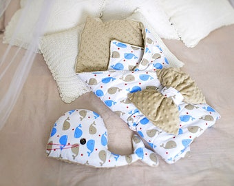 Blanket for newborn. Envelope for newborn. Blanket