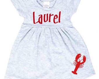 Crawfish Name Dress