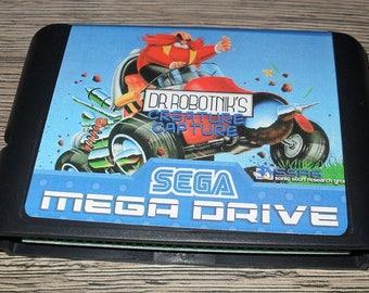 Game Megadrive Mega Drive Genesis: Dr. Robotnik's mean Creature Capture customized