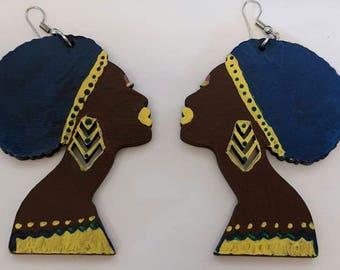Mama Afro-ca (afro)  Earrings
