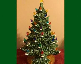 ceramic christmas tree light 14 christmas tree table top christmas tree light - 14 Christmas Tree