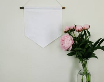 CUSTOM Handmade wide Wall Banner // Wall hanging // Wall Art // Custom Gift