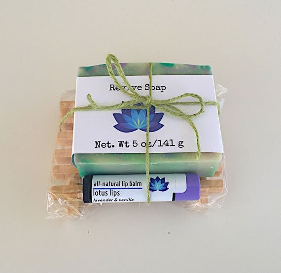 Soap & Lip Balm Gift Set