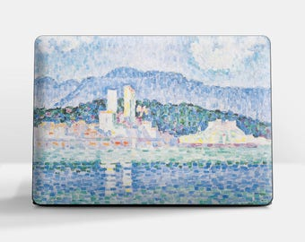 "Laptop skin (Custom size). Claude Monet, ""Antibes. Thunderstorm"". Laptop cover, HP, Lenovo, Dell, Sony, Asus, Samsung etc."