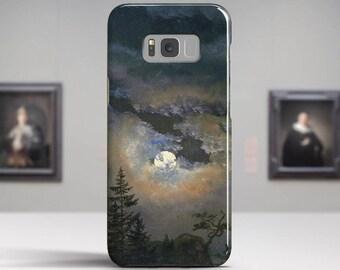 "Johan Dahl, ""A Cloud Study by Moonlight"".Samsung Galaxy S8 Plus Case LG V30 case Google Pixel Case Galaxy A5 2017 Case. Art phone cases."