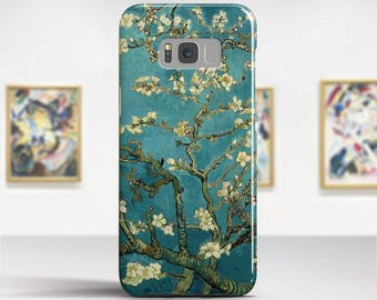 "Van Gogh ""Blossoming Almond Tree"" Samsung Galaxy S8 Plus Case Google Pixel Case LG G6 case Galaxy A5 2017 Case. Art phone cases."