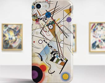 "Vasily Kandinsky, ""Composition VIII"". iPhone 8 Case Art iPhone 7 Case iPhone 6 Plus Case and more. iPhone 8 TOUGH cases. Art iphone cases."