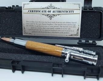 Handmade Jack Daniels pen