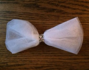 White princess bow