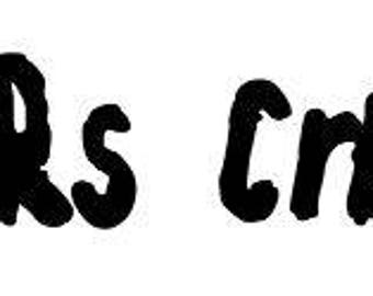 Jeepers Creepers Horror Vinyl Car Decal Bumper Window Sticker Any Color Multiple Sizes Custom