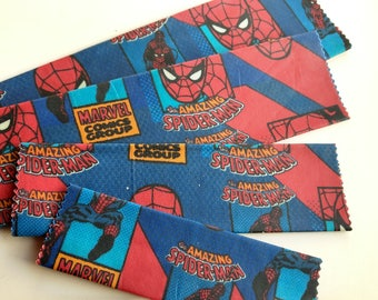 Beeswax Food Wraps 'Marvel Spiderman' - eco-friendly alternative to plastic cling wraps