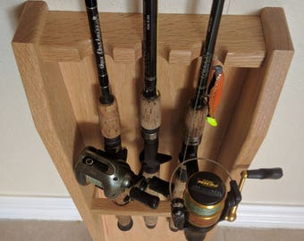 Fishing Rod Rack Etsy