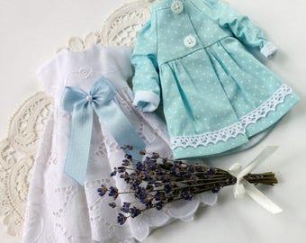Blythe outfit, blythe clothes, blythe set, blythe dress, blythe jacket,  blythe doll, lace dress blythe