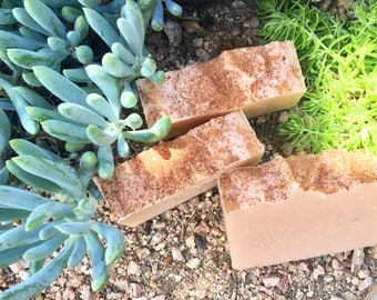 Peach, Apricot, & Nutmeg Soap
