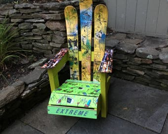 Kids Adirondack Ski Chair