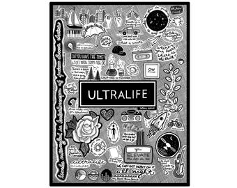 Oh Wonder Sketchbook - Ultralife (Digital Download Print)