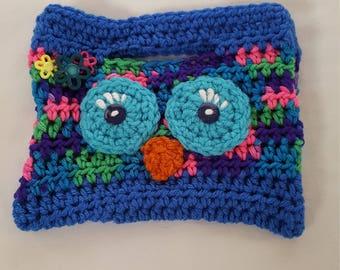 Cute owl purse.