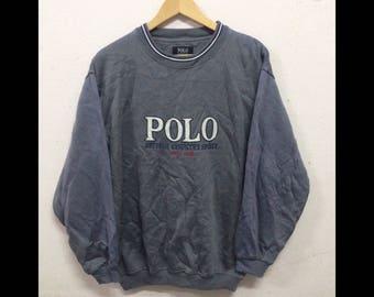 Vintage POLO British Country Spirit 1968 Sweatshirt